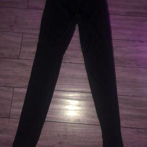 Black high rise aerie pocket leggings size small